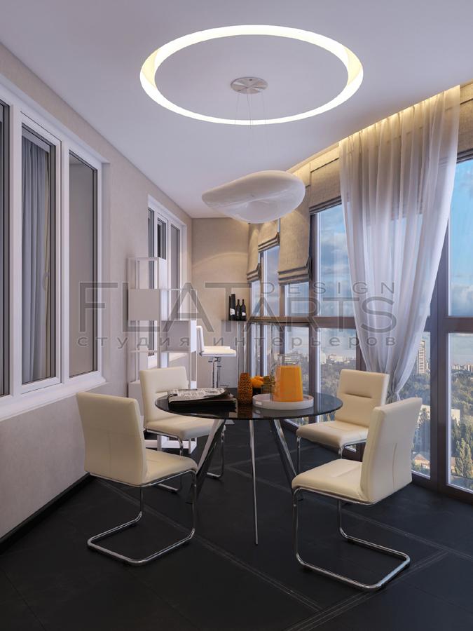 Дизайн квартиры 85 кв.м в современном стиле